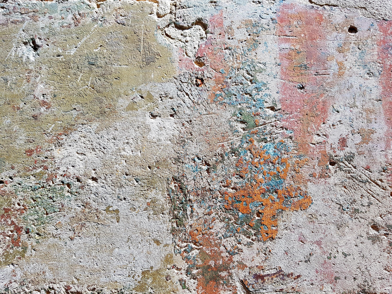 Mur polychrome passage de la Petite boucherie